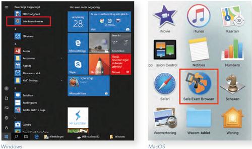SEB App location Windows & Mac